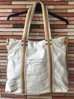 Big Canvas Bag (Zipper Closure)