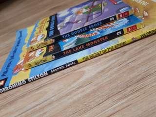 Geronimo Stilton Comics And Mini Mystries