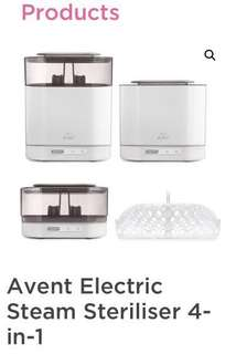 Avent 4 in 1 electric steam sterilizer