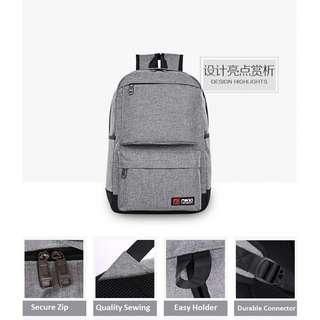 Korean Canvas Backpack Laptop School