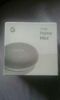 Google Home Mini in Chalk