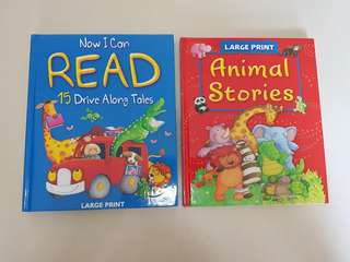 Large Print I Can Read Children Stories (Hardcover)