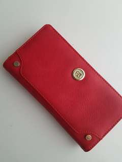 [Brand New] Red Long Wallet