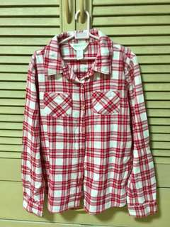Forever 21 Plaid Long Sleeves
