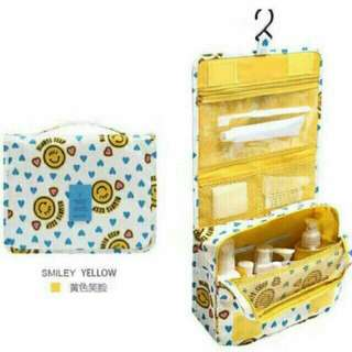 Toiletries organizer / make up kit bag / kikay kit with hook