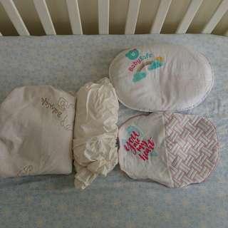 LN Babysafe mattress / pillow and protector