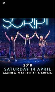 The Script Freedom Child Tour in Manila 2018