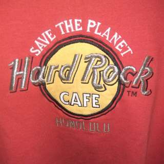 Authentic hard rock cafe