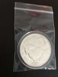 1 oz UK Lunar Horse first coin .999 BU