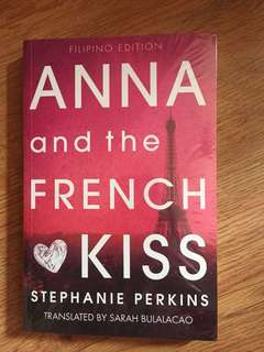 ANNA and the FRENCH KISS by STEPHANIE PERKINS Filipino Edition