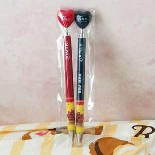 MTR 10周年 原子筆 / 鉛芯筆