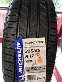 輪胎 米其林primacy suv 2256517