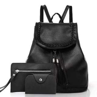 💕💕LEATHER BAGSET💕💕