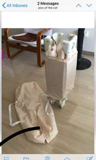 Obaby portable cot. Germany brand