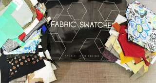 Imported Fabric Swatches for Sale!