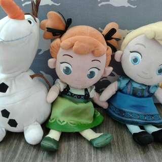 Frozen and My Little Pony Stuff Toys