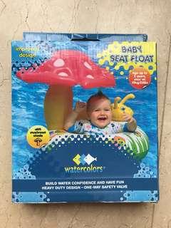 Baby Seat Float - with mushroom shade