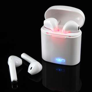 i7s Wireless BT AirPods With Charging Case