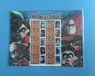 澳洲郵票迪士尼出品超人特工隊