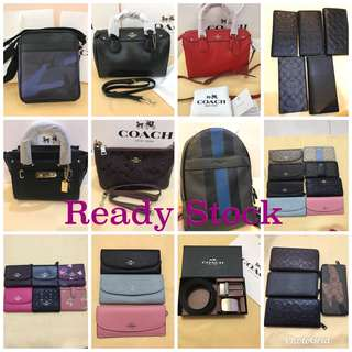 Original coach women backpack men walk purse pouch coin bag sling bag cross bag