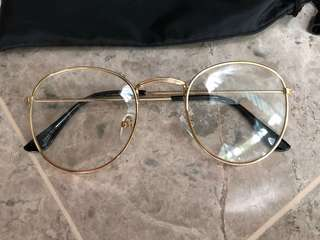Round Fashion Spectacle Glasses