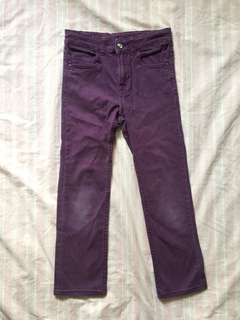 H&M purple jeans for girls