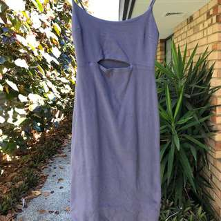 Grey Kookai Midi Dress