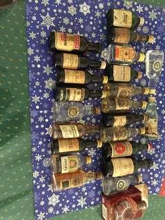 Vintage liquord