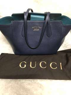 Gucci Swing Tote and Wallet