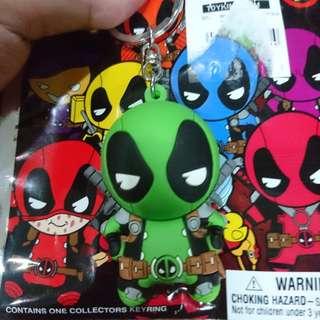 Marvel Deadpool series 2 figural keychain