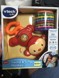 *ready stocked* VTech Baby Swing and Sing Monkey