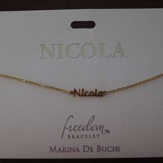 Nicola adjustable bracelet