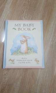New baby book