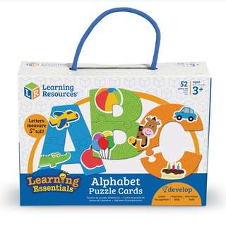 Preorders: Learning Resources LER8590 Alphabet Puzzle Cards @$15.90 - 20% off Retail Price!!!