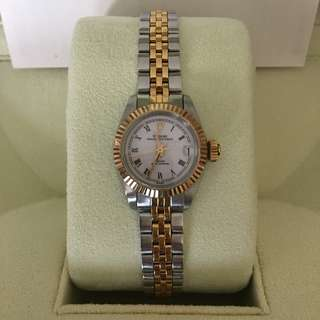 Tudor Princess OysterDate Steel and Gold Lady