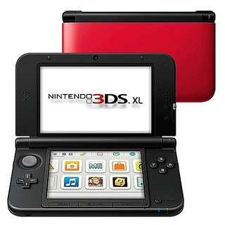 Nintendo 3DS XL Super Mario Pre-Installed
