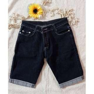Denim (tokong) shorts