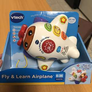 *ready stocked* VTech Fly & Learn Airplane plane aeroplane