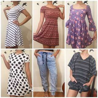 EVERYTHING MUST GO! Dresses, bottoms, tops and skirts for as low as P49!!!