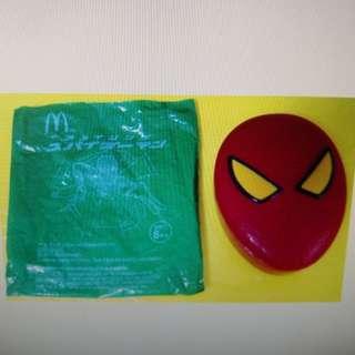 McDonald's 麥當勞 蜘蛛俠膠餐盒