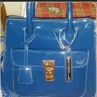 Bess bag. authentic dark navy
