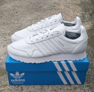 Adidas Heaven Leather Triple White
