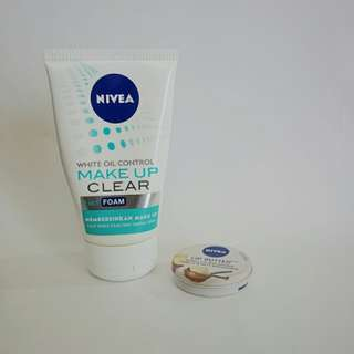 Package: Nivea Facial Wash + Lip Butter