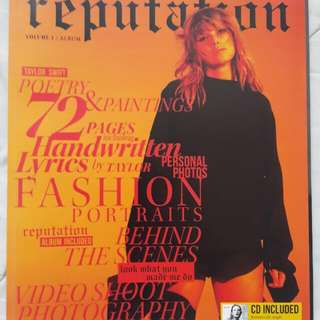 TAYLOR SWIFT REPUTATION TARGET LIMITED BUNDLE
