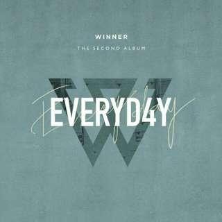 WINNER - EVERYD4Y (Second Album)
