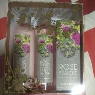 Yves Rocher Rose Fraiche Set