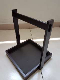 Display wooden tray multipurpose use