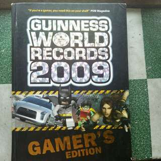 Guinness World Records 2009 Gamer's Edition