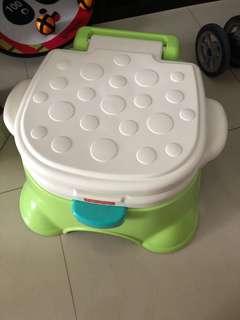 Step stool potty