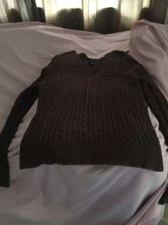 gap sweatshirt brown